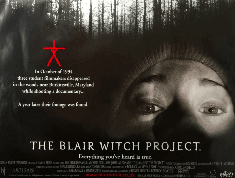 The Blair Witch Project   Cosmopolis